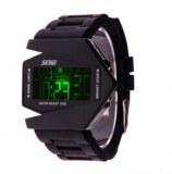 Montre LED pour Homme Edition V, Bracelet en Silicone, Avec Affichage de la Date