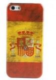 Grossiste,fournisseur chinois : Rétro Type de boîtier espagnol motif drapeau dur pour...