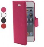 Grossiste,fournisseur chinois : Cross Grain Leather Case Lignes PU pour iPhone 5