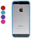 Grossiste,fournisseur chinois : Bord de couleur Transparent Case souple pour iPhone 5
