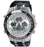 Usine reference hpolw 12584/chrono homme multi affichage, cadran couleur argent