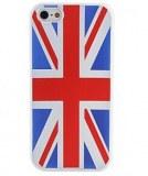 British National Case Modèle Drapeau souple pour iPhone 5
