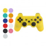 Manette USB DualShock sans fil rechargeable pour PS3- Rose,jaune