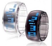 Montre LED Futuriste, Bracelet Moderne