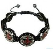 Grossiste, fournisseur et fabricant CB27/tres beau bracelet en strass peace and love
