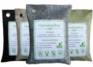 Charbon de bambou écologique absorbeur d'humidité de mauvaises odeurs purificateur d'eau produit...