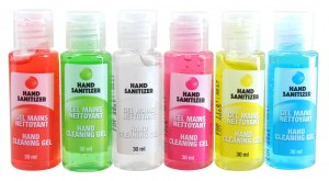 Hands sanitizer gel assainissant