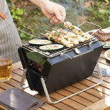 SHOP-STORY - HANDYQ : Le barbecue à charbon pliable et portable