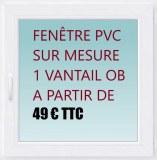 DESTOCKAGE MENUISERIE PVC A PRIS BAS