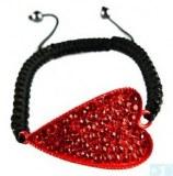 Grossiste, fournisseur et fabricant CB30/bracelet en crystal et en forme de coeur