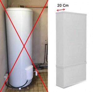 Lot de chauffe-eau électrique extra plat – Déstockage Cumulus / Ballon d'eau chaude