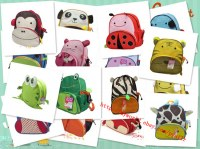 Various colorways of baby bag, children backpack