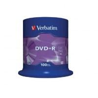100 DVD+R Vierge Verbatim