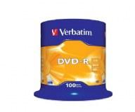 100 DVD-R Vierge Verbatim