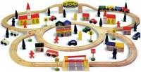 Chemin de fer en bois, «Grand format»