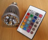 L'Ampoule Musicale ACT-Music Queen avec télécommande.