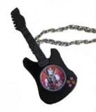 Collier Montre Guitare Noire Hannah Montanah