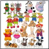 Lot de 152 Peluches