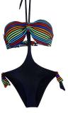 Trikini rayé mode