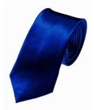 Cravate slim Bleu