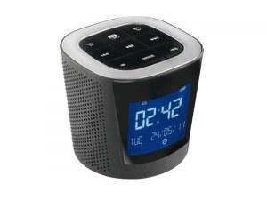 Lot Intenso Alarmbox 2-en-1 - Réveil et haut-parleur portable MP3 Radio