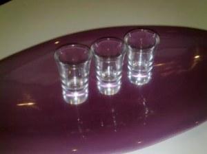 Verrines verre 7 cm