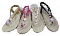 Sandale fleur bijou