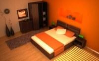 Design unique chambre a coucher complete 6pcs