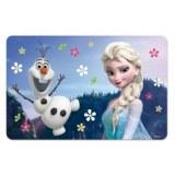 Set de table 3d - la reine des neiges - fleuri