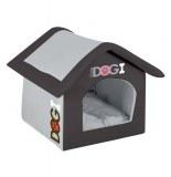 Maison pour chien - 54 cm - dogi noir