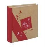 Album photos à pochettes 11,5 x 15 cm - 300 photos - kraftty - rouge