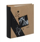 Album photos à pochettes 11,5 x 15 cm - 300 photos - kraftty - noir