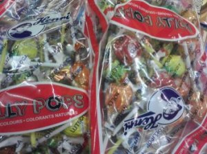 LOLLY POPS Sucettes