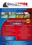 Application de résine epoxy pour vos entrepôt !