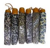 Parapluie imprimé leopard