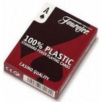 Carte poker fournier 100 % plastique