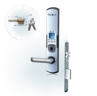 Une serrure biometrique  digicode