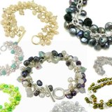 Bracelets Perles de Culture Mode Breloques Fashion