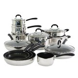 Lot de poêles casseroles, batterie de cuisine et autres ustensiles de cuisson