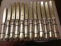 Lot de 3500 couteaux de tables plusieurs modèles prix bradé en Inox Amefa