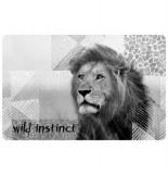 Set de table opaque lion - wild instinct - décoration de table