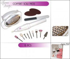 Kit Pedicure 15 Pieces