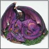 Dragon Mauve Endormi