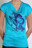 Tshirt femme Papillon