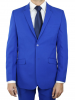 Costume Bleu cintrée