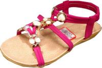 Sandale perle et strass