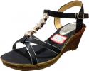 Sandale Compensé strass