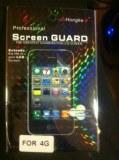 Lot de films protecteur iphone 4