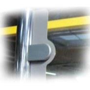 Pince accroche panneau verre acrylique