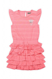 Robe fille froufrou